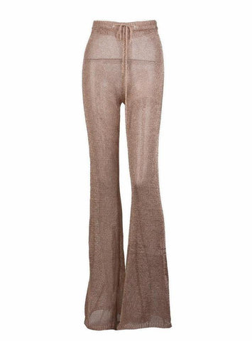 SERENITY PANT ROSE GOLD - Vintage Glam Shop