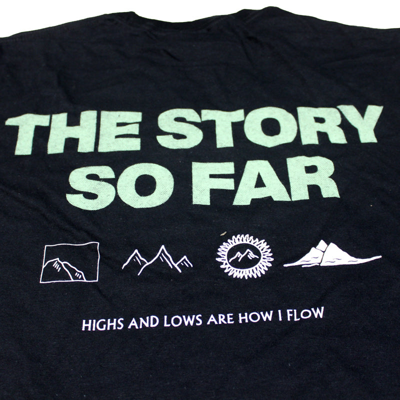 HIGHS AND LOWS BLACK T-SHIRT
