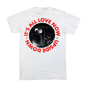 ALL LOVE NOW WHITE T-SHIRT