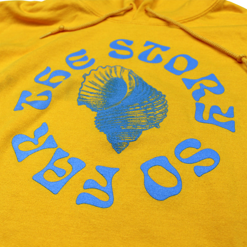 STORY SO FAR GOLD PULLOVER HOODY