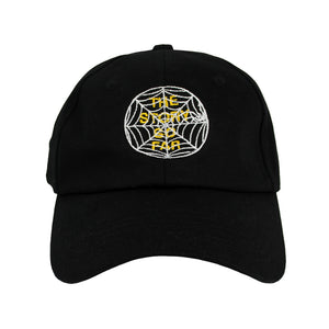 TSSF SPIDER WEB BLACK CAP