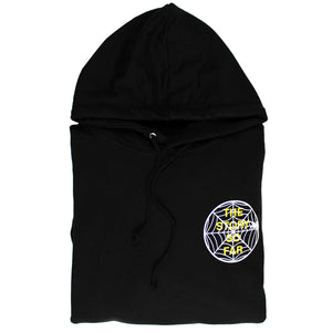 TSSF SPIDER WEB BLACK HOODY