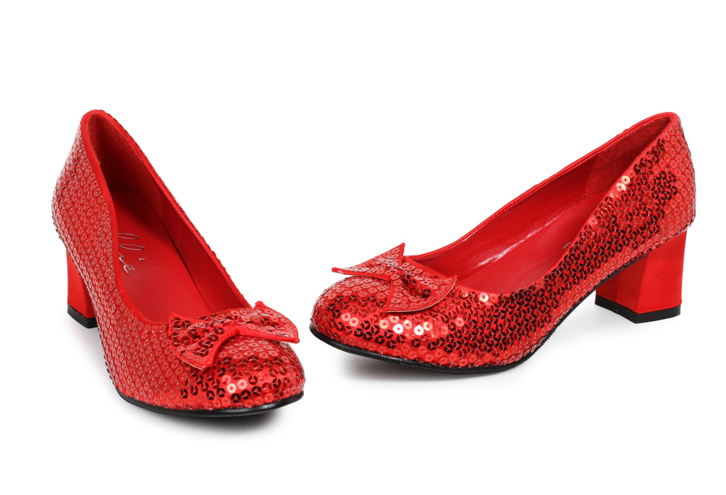 "2"" Women's Sequin Dorothy Shoe (ES203-JUDY)"