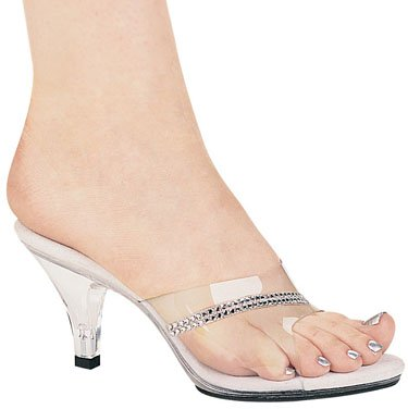 "3"" Stylish Clear Heel (ES305-Jesse)"