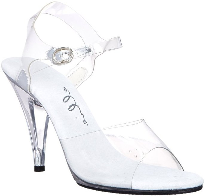 "4"" Support Clear Heel (ES405-Brook)"