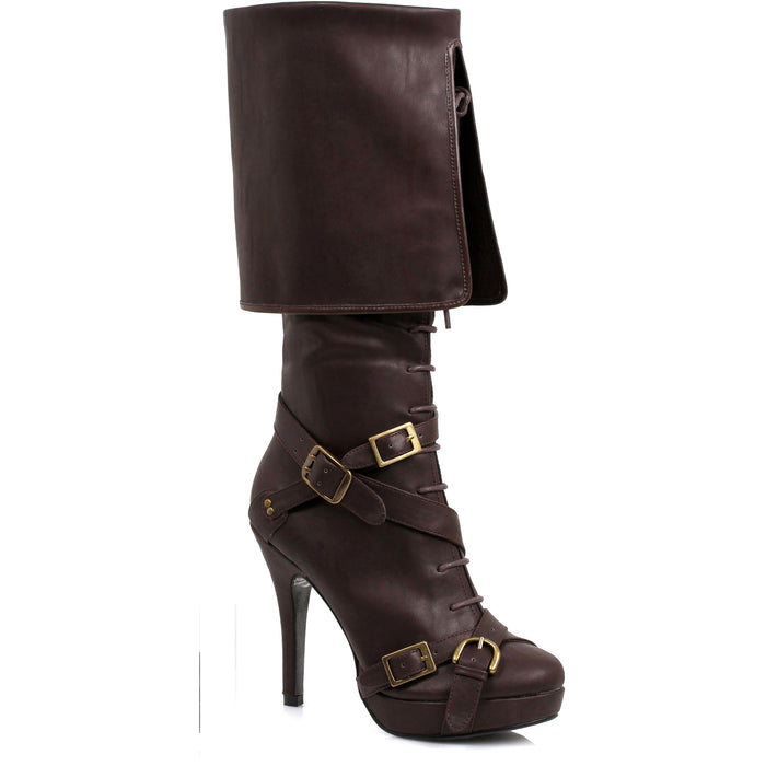 "4"" Knee High Cuff Boot (ES414-KEIRA)"