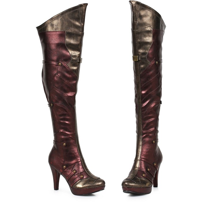 4-Inch Womens Thigh High Boot (ES414-WONDER)