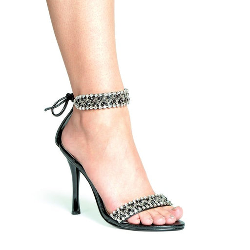 "4.5"" Rhinestone Sandal (ES457-Claudia) (Blowout) (Final Sale)"