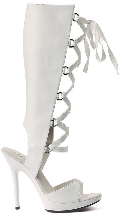 "5"" Heel Knee High Sandal (ES502-HOLLY) (Blowout)(Final Sale)"