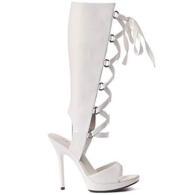 "5"" Heel Knee High Sandal (ES502-HOLLY)"
