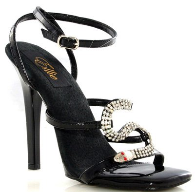 "5"" Strap Sandal with Snake D'cor (ES508-CHANTEL)"