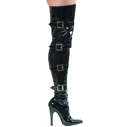 "5"" Heel Stretch Thigh Boot (ES511-Buckleup)"