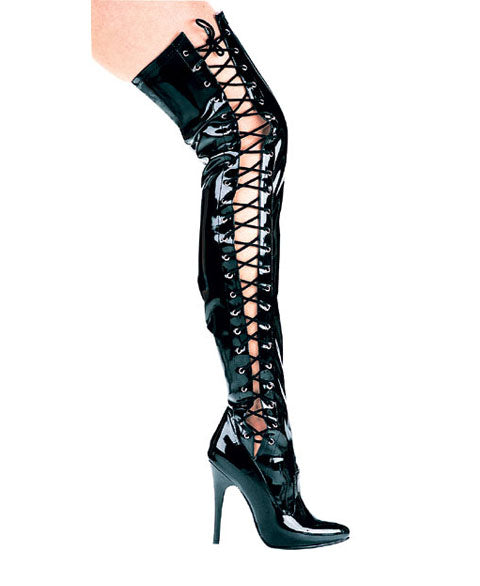 "5"" Thigh High Stretch Boot (ES511-Ferocious)"