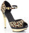 "5"" Chrome Stiletto Leopard Mini-platform (ES515-ZULU)(Blowout)(Final Sale)"