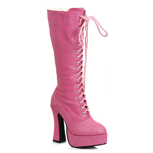 "5"" Platform Shimmer Knee High Boot (ES557-FOXY)"