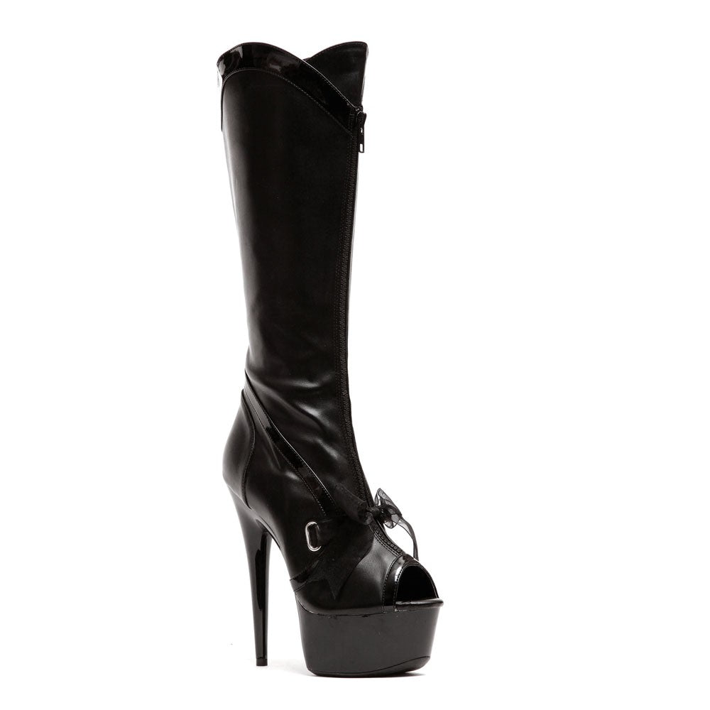 "6 1/2""  Knee High Peep Toe Boot (ES609-NAIMA)"
