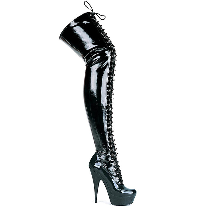 "6""  Stiletto Stretch Thigh High Boot (ES609-Olivia)"