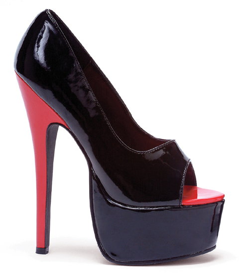 "6.5"" Stiletto Heel Open Toe Pump (ES652-BONNIEBlowout)"