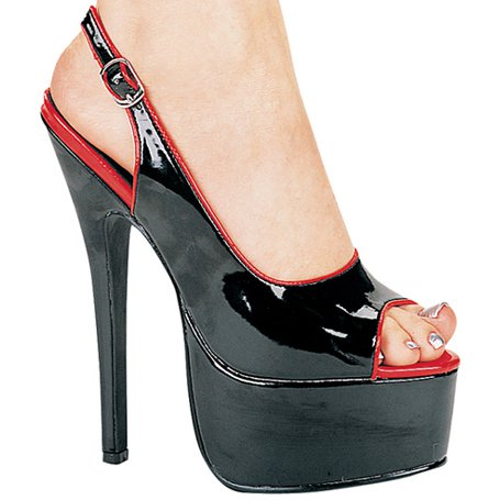 "6 1/2"" Stiletto Open Toe Sling Back (ES652-Lucia)"