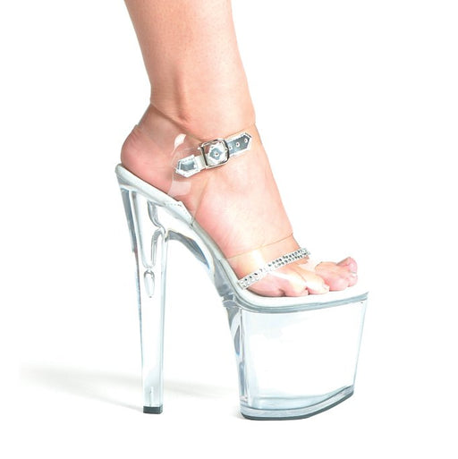 "8"" Stiletto Rhinestone Platform (ES821-Jewel)"