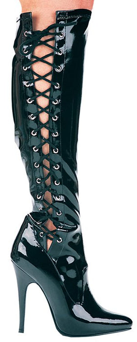 "5"" Heel Knee High Stretch Boot (ES-Fierce)"