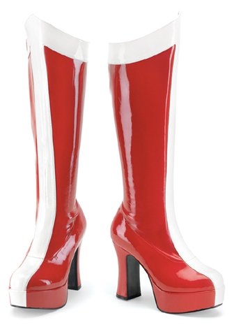"4"" Wonder Woman Boots(EXOTICA-305)"