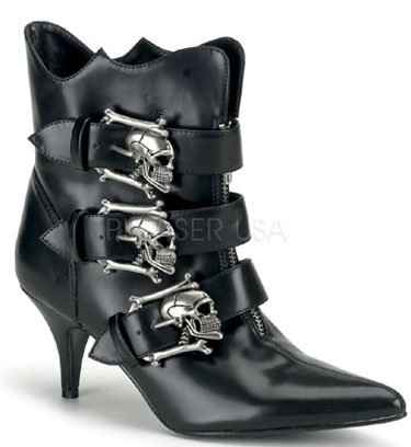 "2 3/4"" Gothic Ankle Boot (Fury-06)"