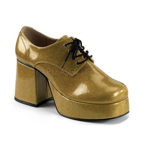Men's Glitter Disco Shoes(Jazz-02G)