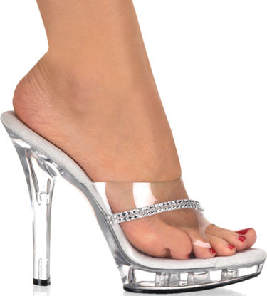"5"" Stiletto Mini-Platform Slide(LIP-101R)"