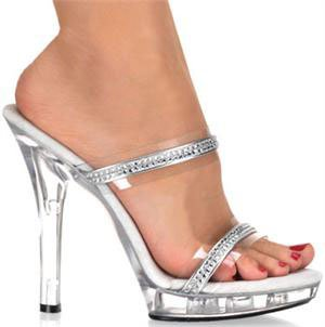 "5"" Stiletto  Rhinestone Slide (LIP-102-2)"