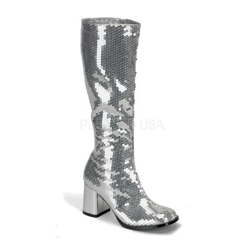 "3"" Sequins Knee Boots(SPECTACUL-300SQ)"