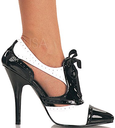 "5"" Spectator Oxford Pump (SEDUCE-458)"