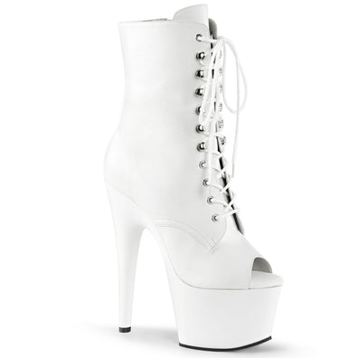 "7"" Stiletto Lace-Up Ankle Boot (ADORE-1021)"