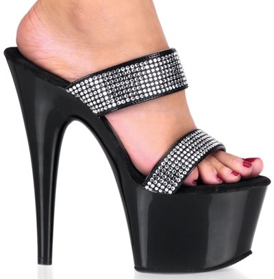 "6 1/2"" Stiletto Two-Band Platform(ADORE-702-2)"