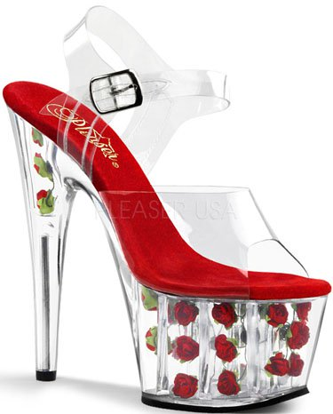 "7"" Stiletto Flower Platform (ADORE-708FL)"