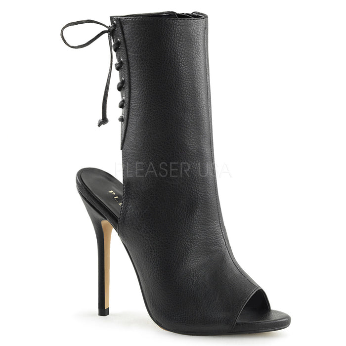 "5"" (12.7cm) Stiletto Heel Ankle Boot (AMUSE-1018 Final Sale)"