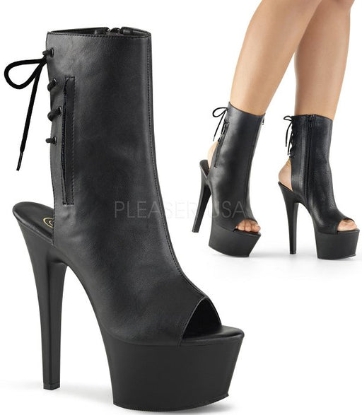 "6"" Open Toe Ankle Boot (ASPIRE-1018)"