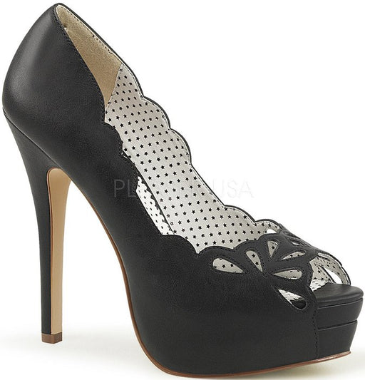 "5 1/4"" Peep Toe Pump (BELLA-30)"
