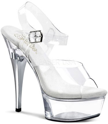 "6"" Stiletto Platform (CAPTIVA-608)"