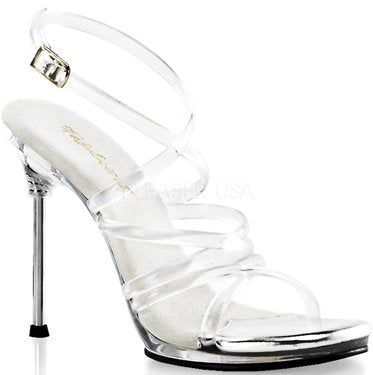 "4 1/2"" Stiletto Mini-Platform Sandal(CHIC-07)"
