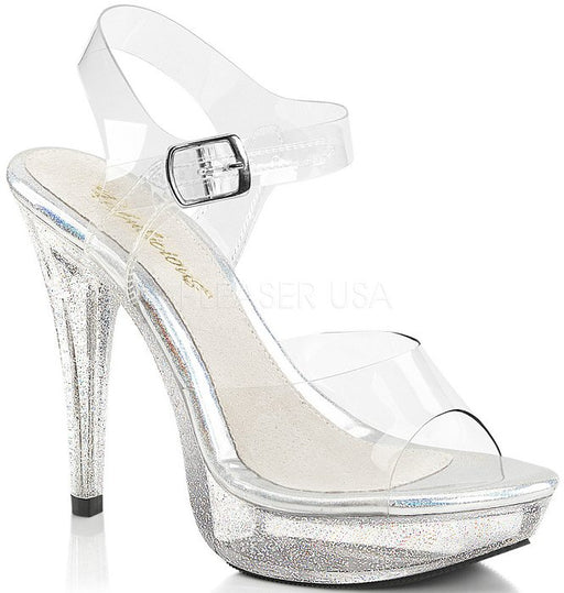 "5"" Heel Platform Sandal (COCKTAIL-508MG)"