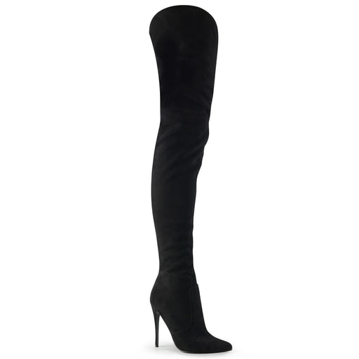 "5"" Heel Thigh High Knee Boot (COURTLY-3017)"