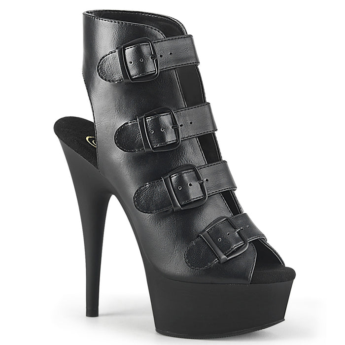 "6"" Stiletto Ankle Bootie Platform (DELIGHT-683)"