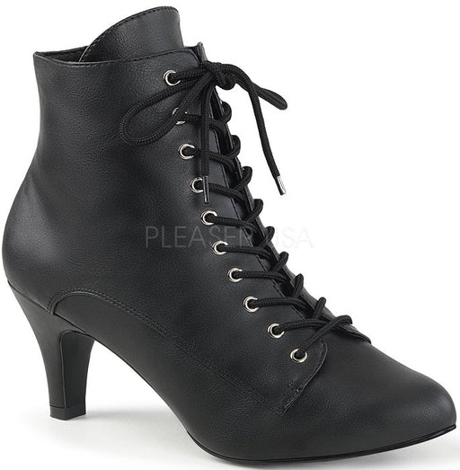 "3"" Block Heel Ankle Boot (DIVINE-1020)"