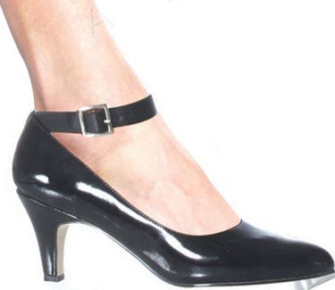"3"" Block Heel Pump (DIVINE-431W Blowout Final Sale)"