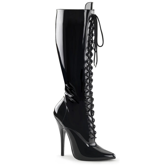 "6"" Lace-Up Knee Boot (DOMINA-2020)"