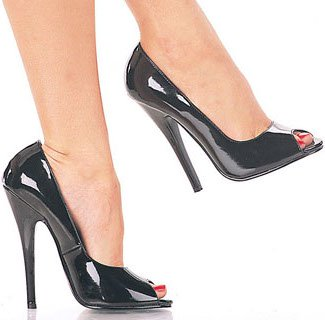"6"" Peep Toe Pump(Domina-212)(Blowout)(Final Sale)"