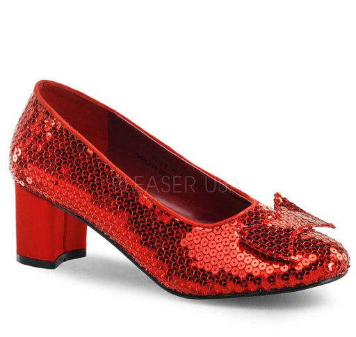 "2"" Sequins Dorothy Shoes(DOROTHY-01)"