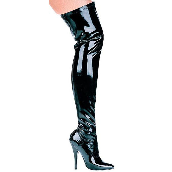"5"" Thigh High Stretch Boot (ES511-Ally)"