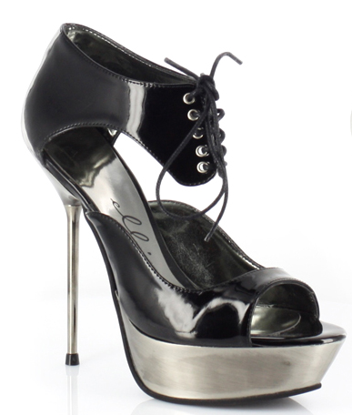 "5"" Metallic Stiletto Platform (ES567-Alina Blowout Final Sale)"